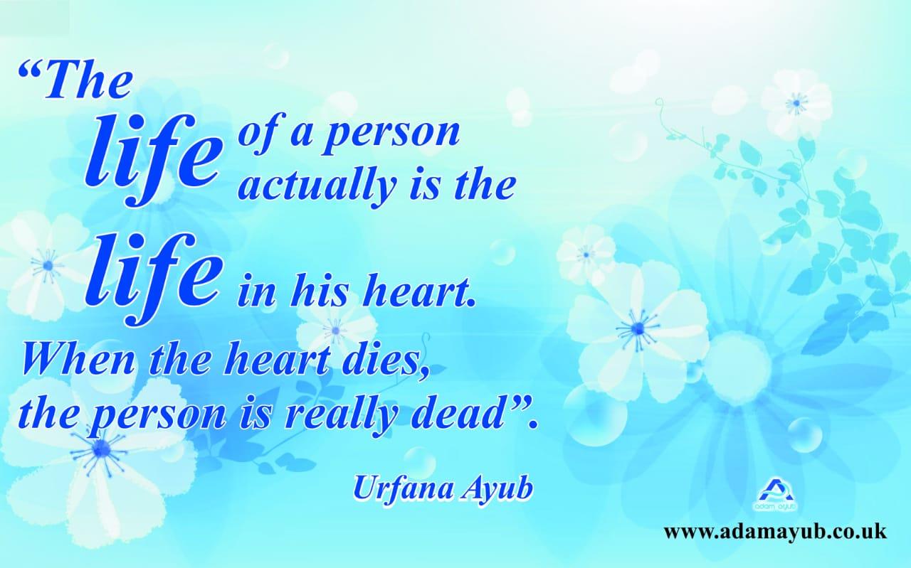 when heart dies Q
