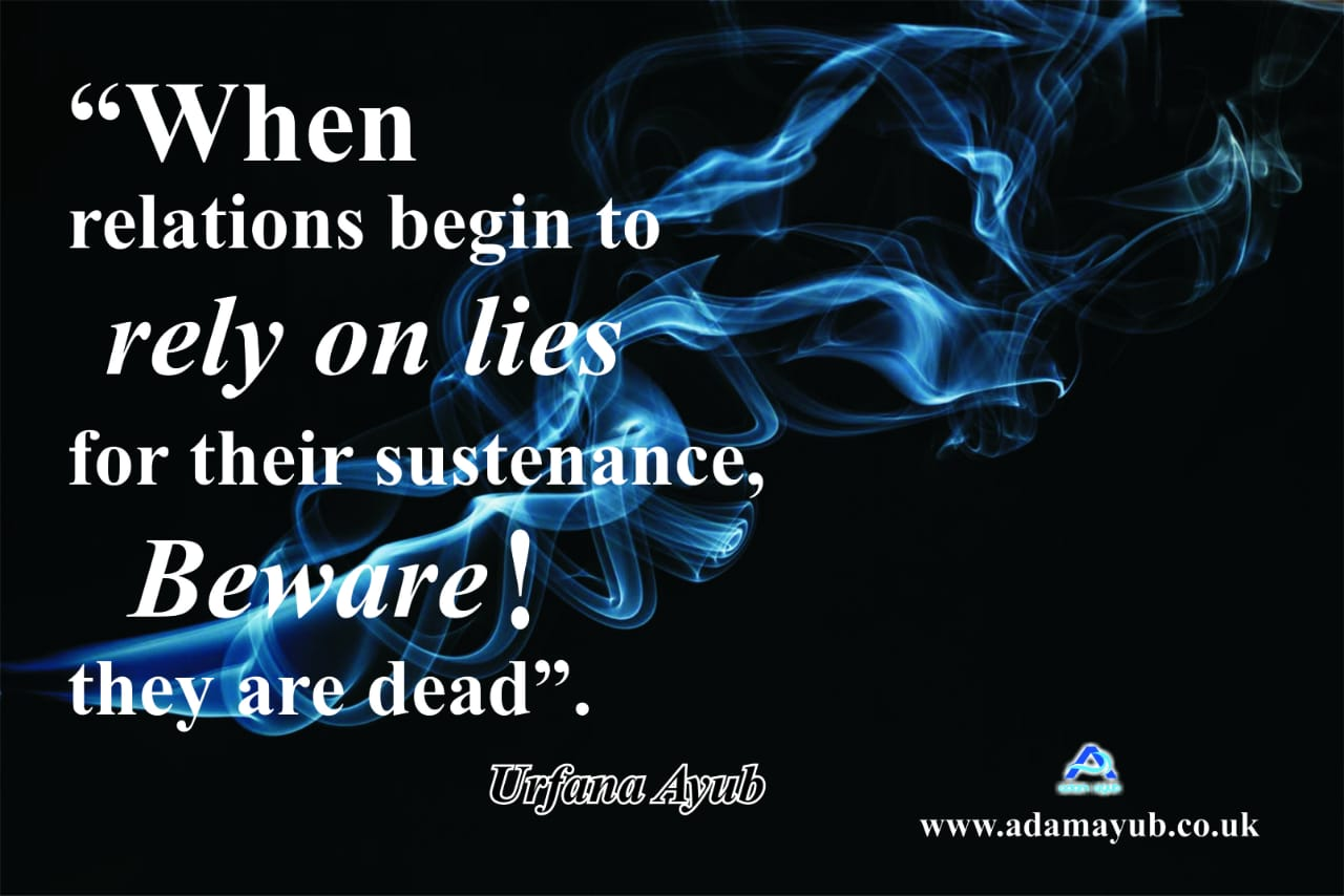 relationships lies on lies Q