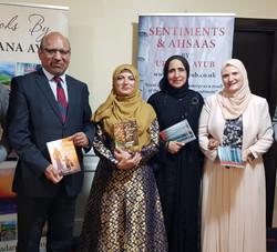 Book launch - Sentiments