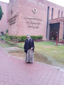 Shaukat Khanum Lahore visit