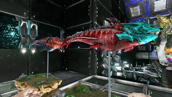 220+ Dunkleosteus deadpool event and cyan red breeding pair