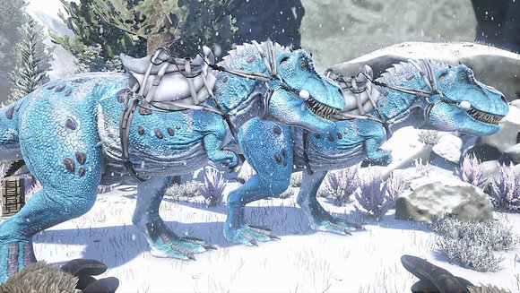 Ultimate top stat Rexes (40K H 1225M) GLACIAL NEW COLOR 100% guaranteed