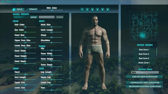 Ark character level 100 with tek unlocked