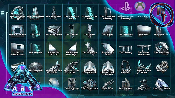 Tek building service Xbox Pve