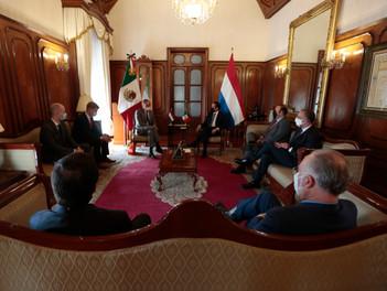 El Gobernador de Querétaro y el nuevo embajador de los Países Bajos refrendan lazos colaborativos