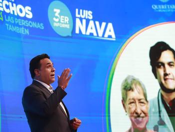 Luis Nava presentó su 3er. informe de resultados al frente de la Presidencia Municipal de Querétaro.