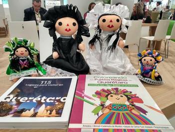 """El libro """"115 Lugares para visitar en #Querétaro"""" presente en #FITUR2020"""