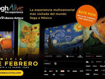 Van Gogh Alive The Experience: viaje poético a través del poder visual del cosmos y las estrellas.