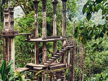 El Jardín Escultórico de Edward James: un monumento al surrealismo.