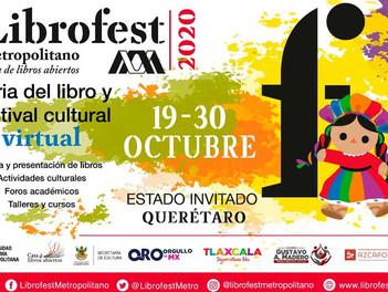 Querétaro estado invitado: Librofest 2020