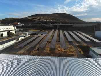 Segunda planta solar, proyecto de GOLDBECK SOLAR para el sector industrial en Querétaro