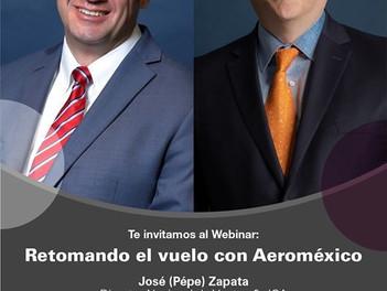 Retomando el vuelo con Aeroméxico.