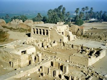 El templo de Hathor en Dendera: el majestuoso hogar de la diosa egipcia del amor.