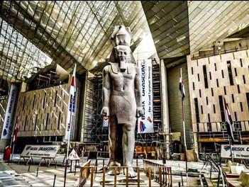 El Gran Museo Egipcio.  المتحف المصريالكبير