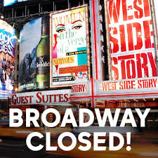 Teatros de Broadway cerrados hasta enero de 2021.