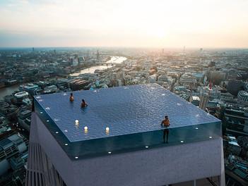 Londres tendrá la primera alberca infinita con vista de 360 grados