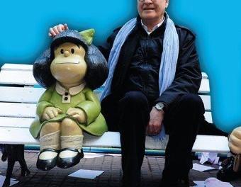 Muere Quino creador de Mafalda: sabio de la filosofía popular.