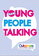 Young Trans People Talking Book Cover Outcomers Youth Work Ireland Meath