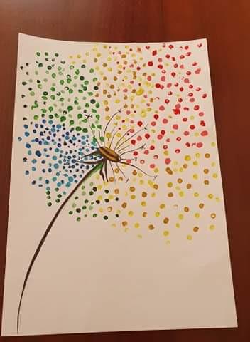 KT Rainbow Dandelion