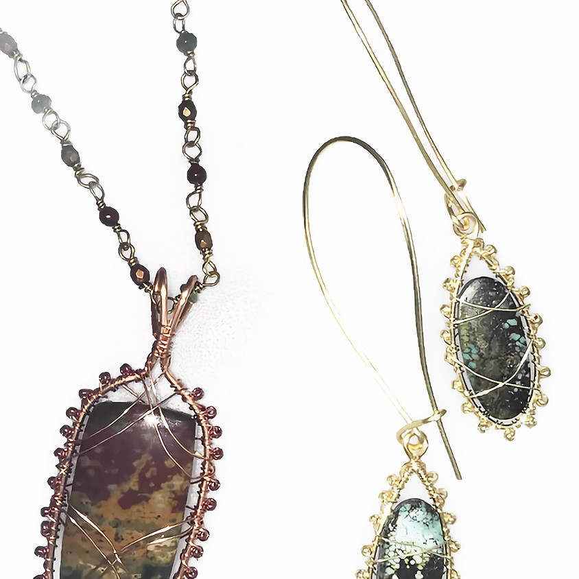 Quick and Easy Wire Bezel: Visiting Instructor Melody MacDuffee