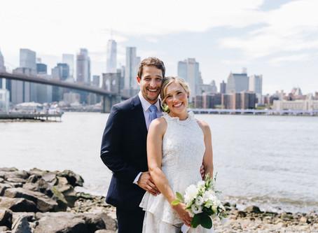 Summer Brooklyn Wedding of Meredith & Avi