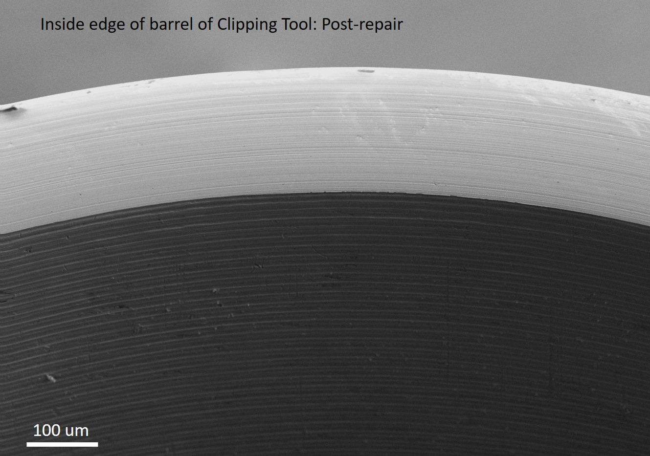 Repaired Clipping Tool