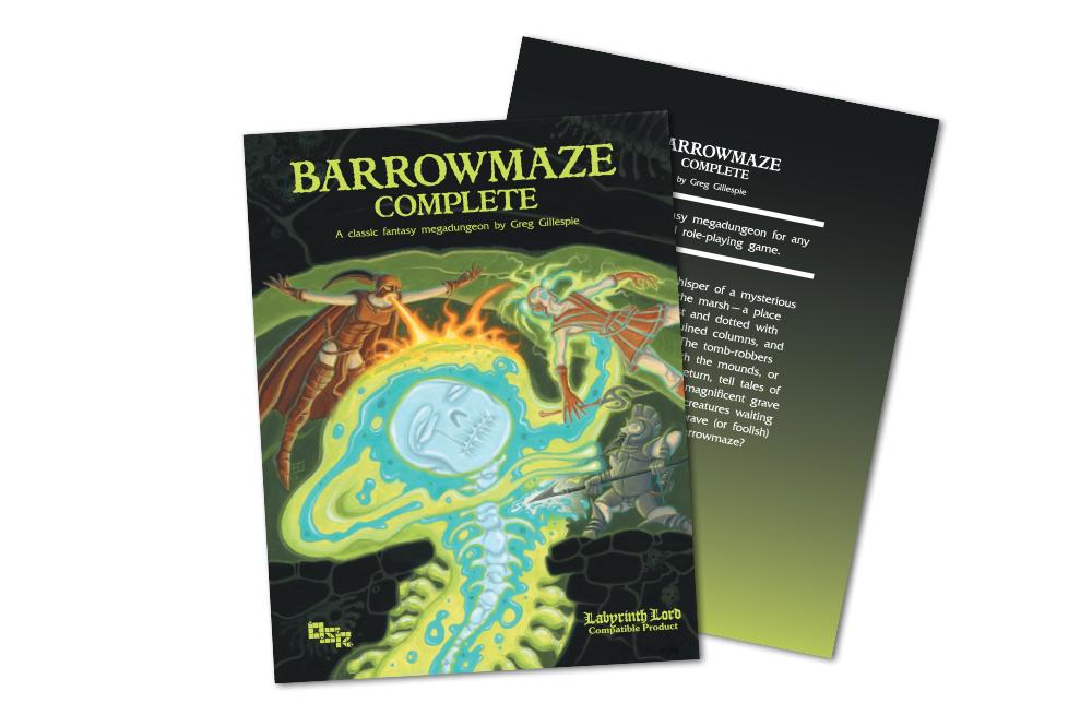 Barrowmaze Complete