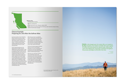 Reclamation Brochure Sample Spread