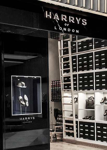 Middle East shops / Harrys of London