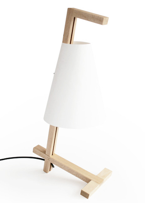 Transport Lamp / Wood by TEN