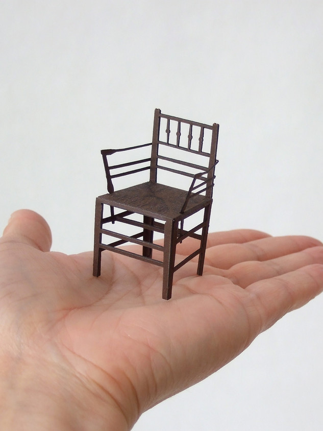 001 Sussex armchair circa1860