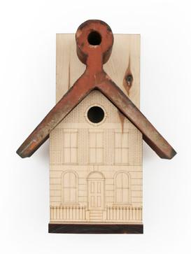 Reclaimed Rooftile Birdhouse / TEN XYZ