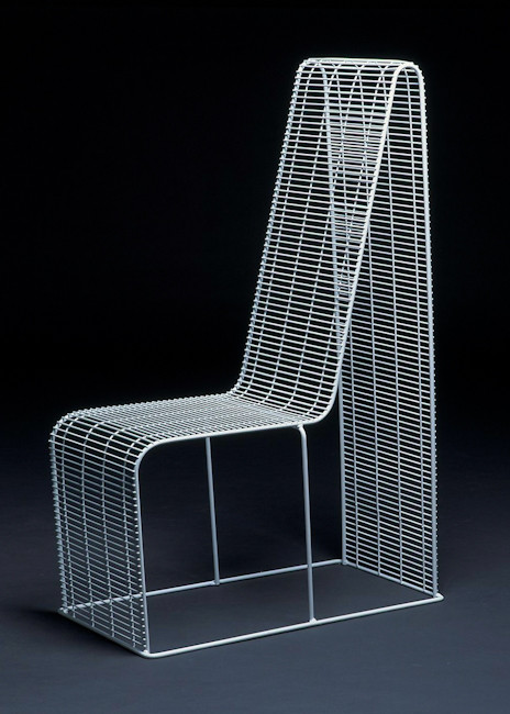 Wire Frame Hight Chair, 1997 / self production, UK