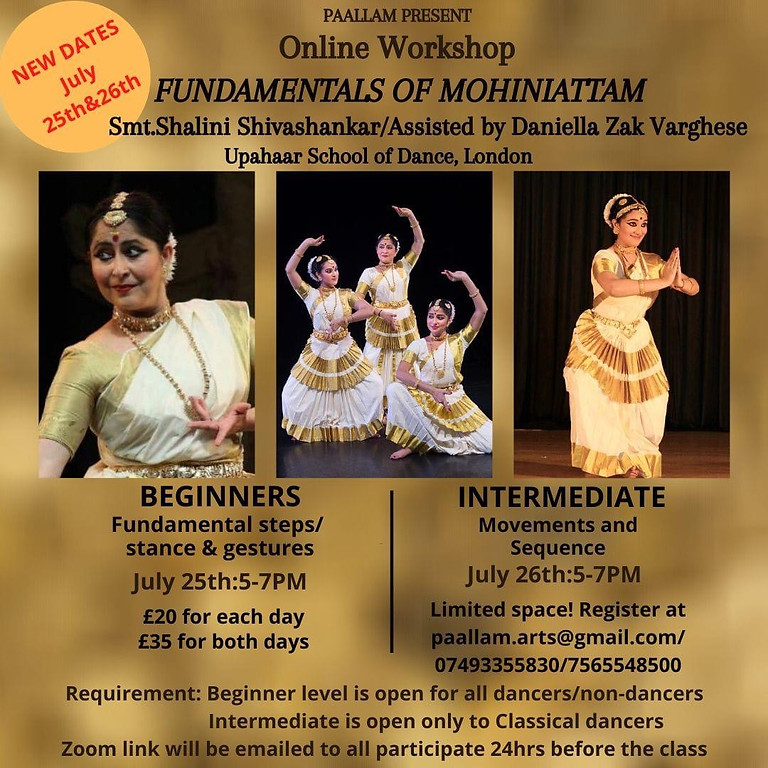 Fundamentals Of Mohiniattam