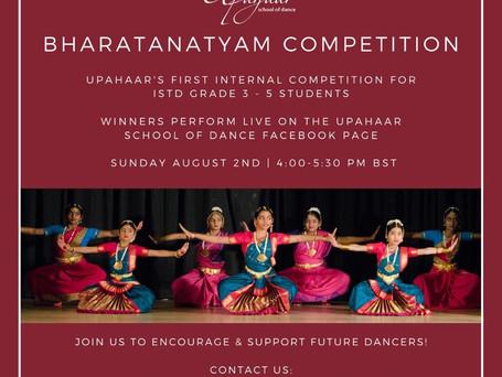 Upahaar's Bharatanatyam Competition