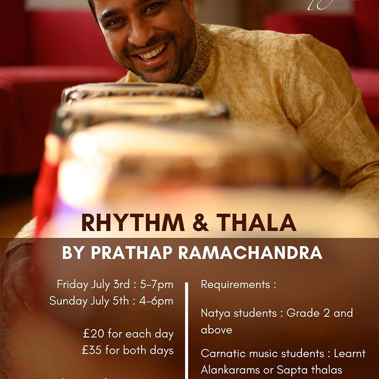 Prathap Ramachandra - Rhythm & Thala Workshop