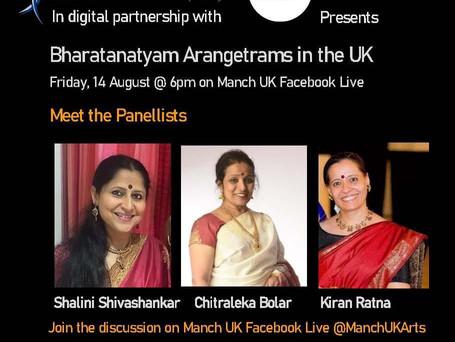 Bharatanatyam Arangetrams Panel Discussion