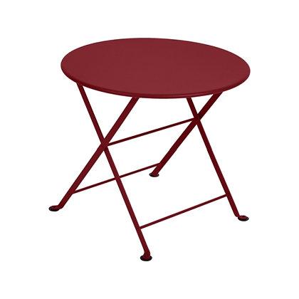 Низкий круглый стол Ø55 см - TOM POUCE - Яркие цвета