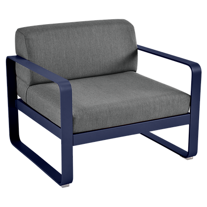 Кресло - BELLEVIE - Классические цвета (подушки антрацит)