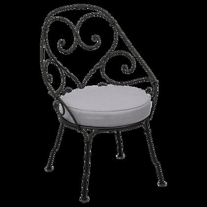 Кресло кабриолет (серая подушка) - 1900 - Классические цвета