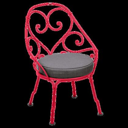 Кресло кабриолет (подушка антрацит) - 1900 - Яркие цвета