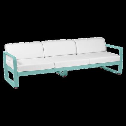 3х местный диван - BELLEVIE - Яркие цвета (Белые подушки)