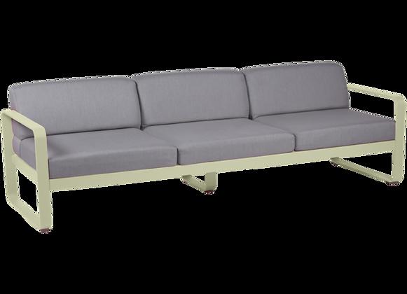 BELLEVIE  - 3х местный диван  (серые подушки) (Сезонная аренда)