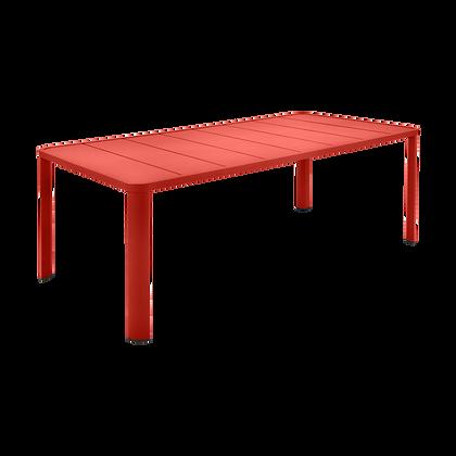 Стол 205 x 100 см - OLERON - Яркие цвета