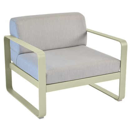 Кресло - BELLEVIE - Классические цвета (Серые подушки)