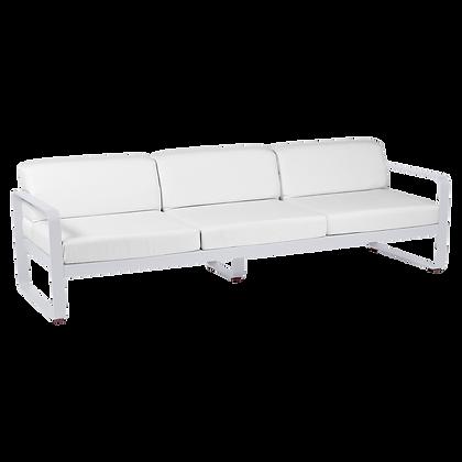 3х местный диван - BELLEVIE - Классические цвета (Белые подушка)