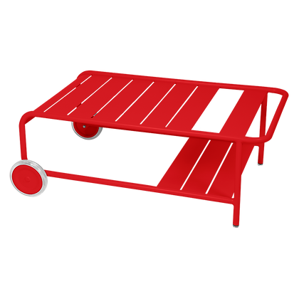 Низкий стол на колесиках - LUXEMBOURG - Яркие цвета
