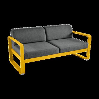 Диван - BELLEVIE - Яркие цвета (подушки антрацит)