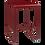 Thumbnail: Высокий стол 74 х 80 см - BELLEVIE - Яркие цвета