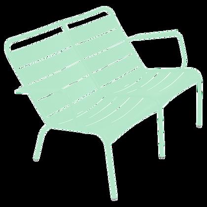 Двухместное низкое кресло - LUXEMBOURG - Яркие цвета